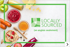 Locally Sourced (en anglais seulement)