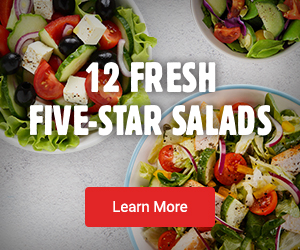 12 Fresh Five-Star Salads - Learn More