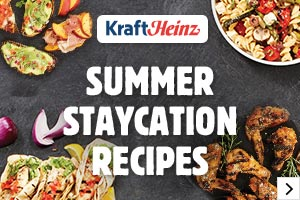 Summer STAYCATION recipes - Learn More