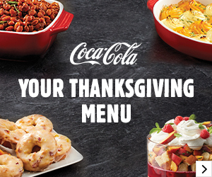 Coca-Cola® Your Thanksgiving Menu