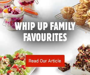 Whip up family favourites
