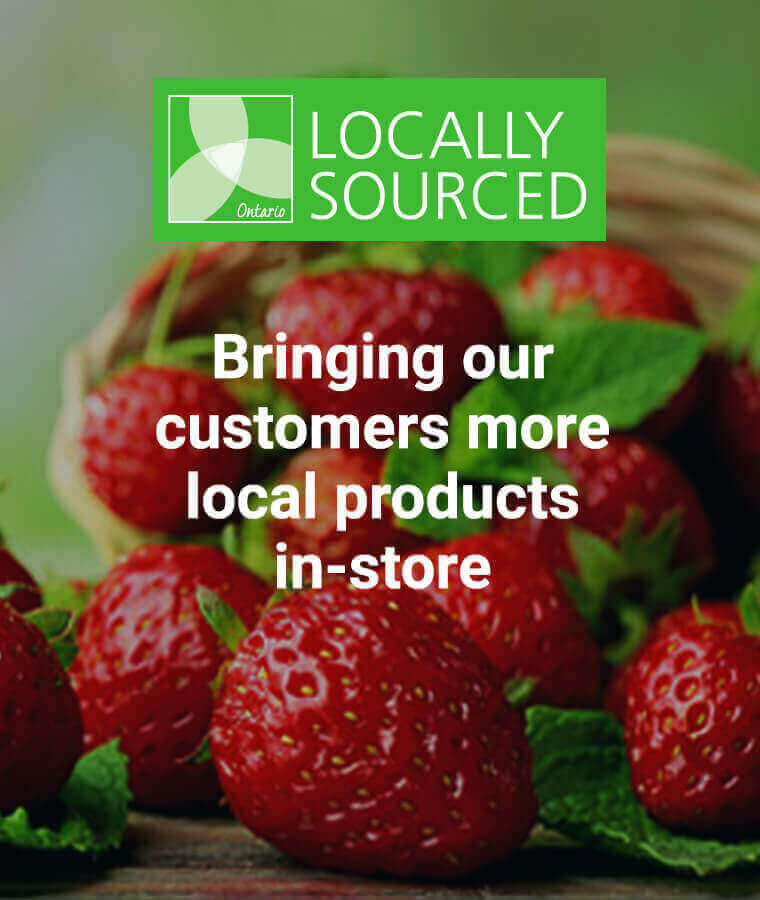 Locally Sourced - Bringing our customers more local products in-store
