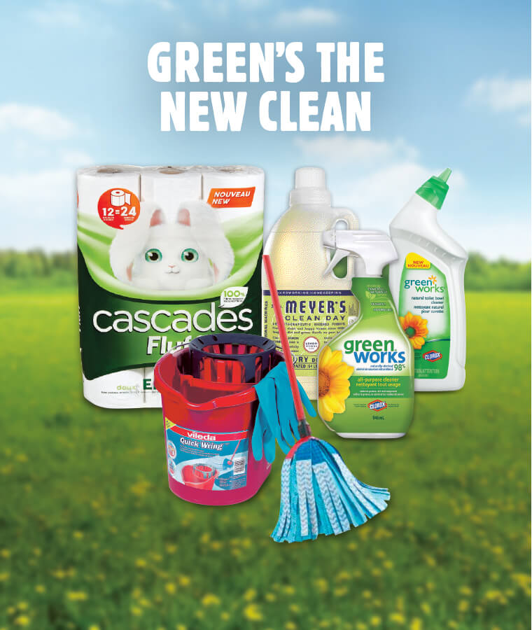 Green's the New Clean flyer deal