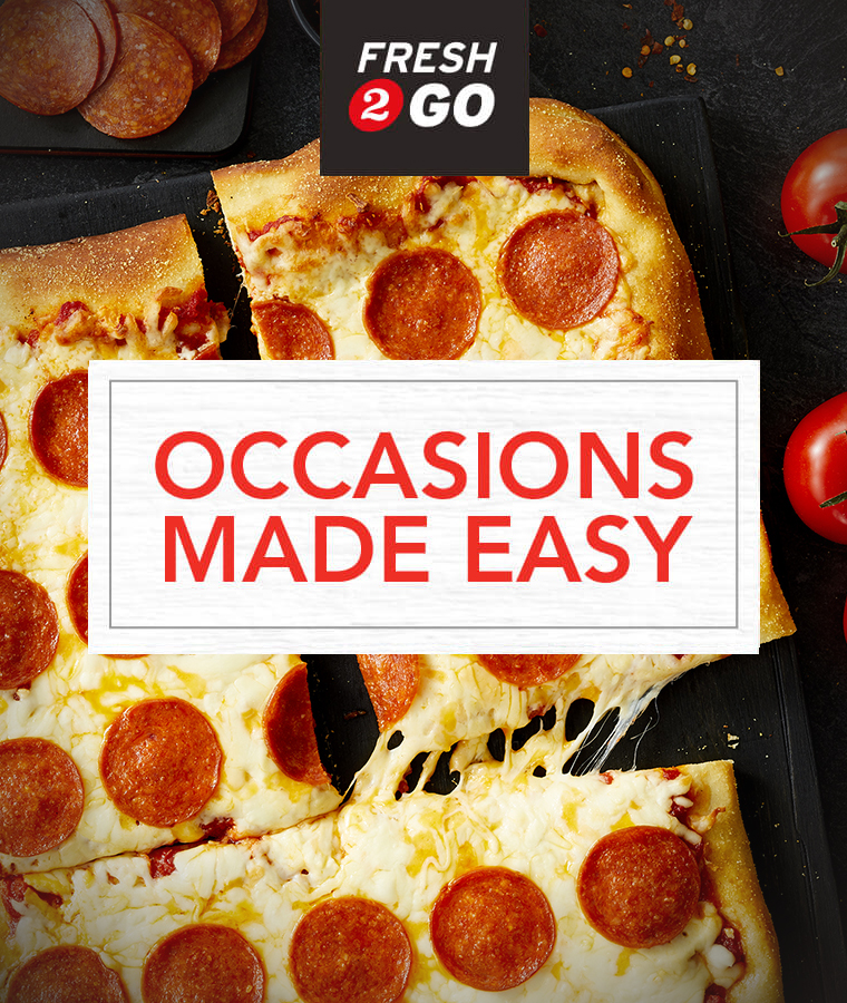 Fresh2Go Occasions Made Easy