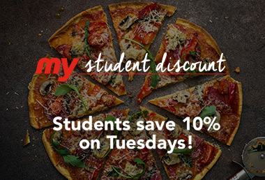 Student Discount Offer
