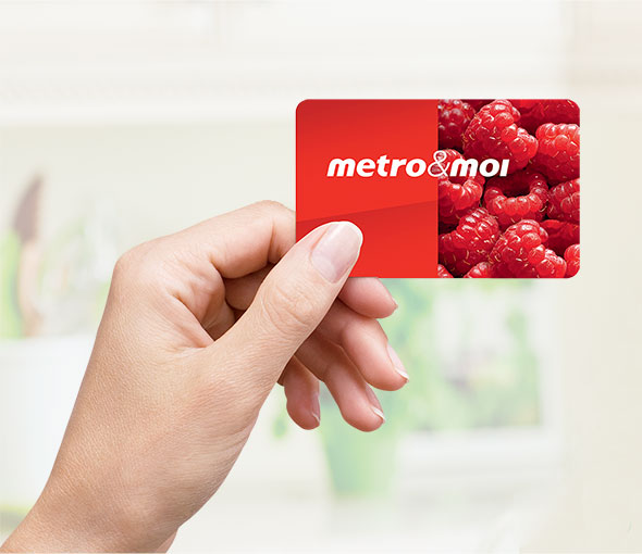 My metro&moi card
