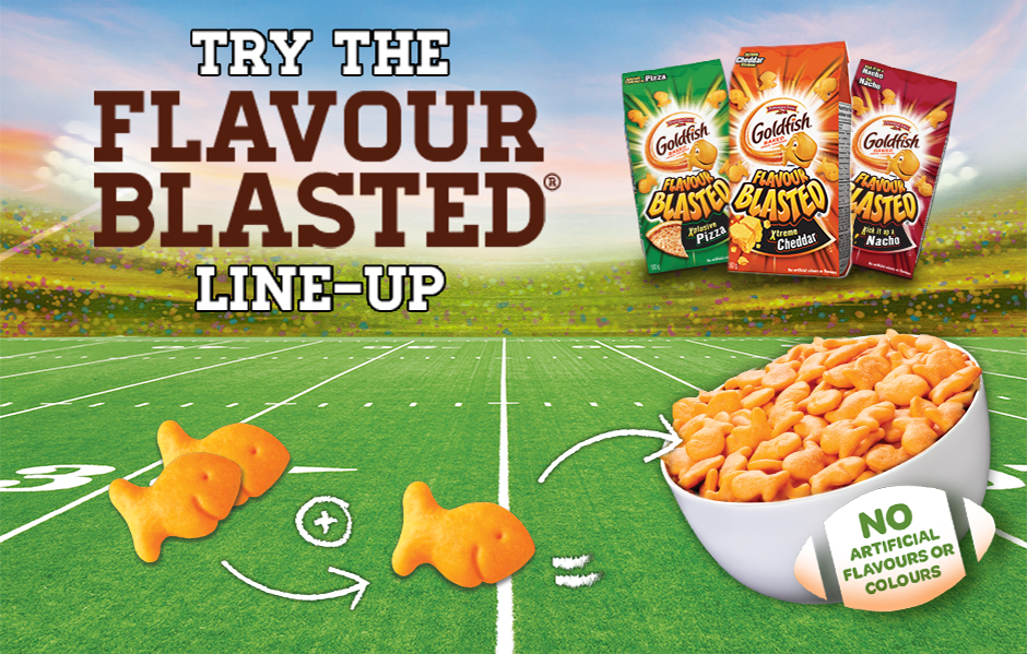 Try the flavour blasted line-up