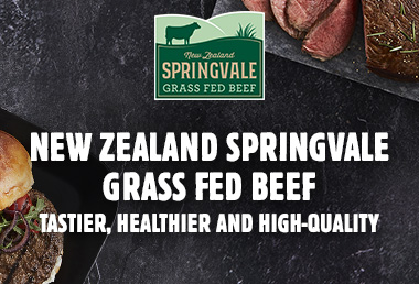 New Zealand Springvale Grass Fed Beef: Tastier, Healthier and Better-Quality Meat