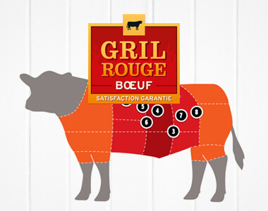 Discover Red Grill beef, a mark of quality