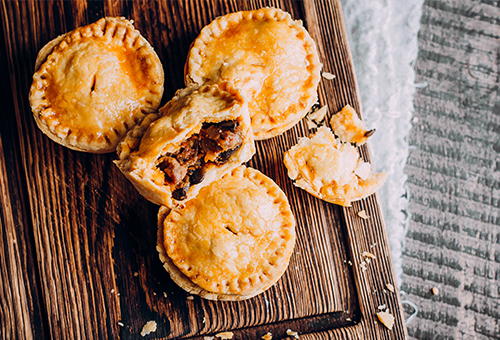 EVERYTHING FOR YOUR PIES, QUICHES, GRATINS, AND MEAT PIES!