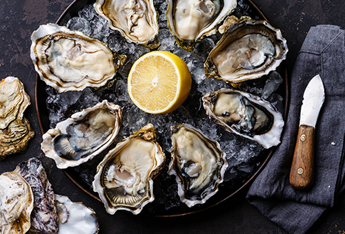 FOR A SUCCESSFUL OYSTER FEAST