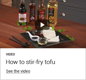 Video - How to stir-fry tofy - See the video