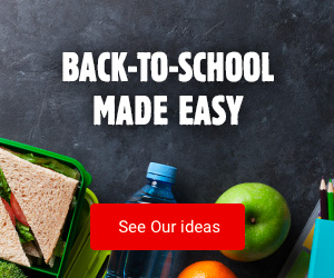 Back-to-school made easy - See Our Ideas