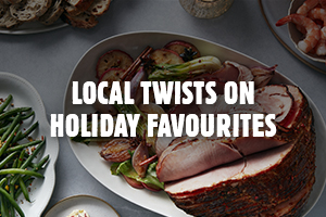 Local Twists on Holiday Favourites