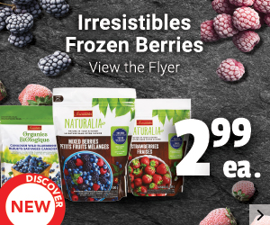 Irresistibles Frozen Berries - View the Flyer