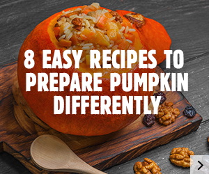 8 Easy Recipes to Prepare Pumpkin Differently