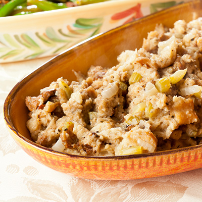 Pineapple and Pork Stuffing