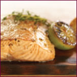Grilled Salmon Fillets,Japanese-Style