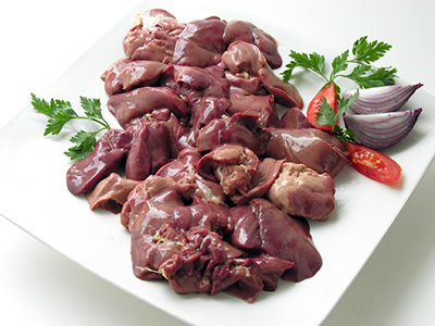 Chicken Livers with Citrus Supremes