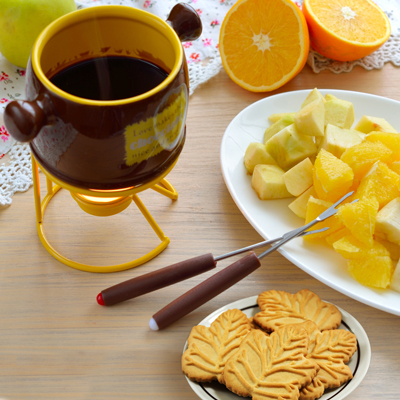 Maple Fruit Fondue