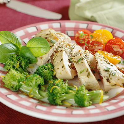 Fruit Stuffed Chicken Breasts