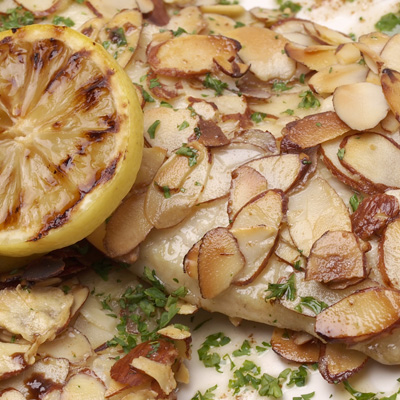 Lemon-Poached Haddock Fillets