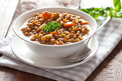 Hearty Alsacienne Lentil Soup