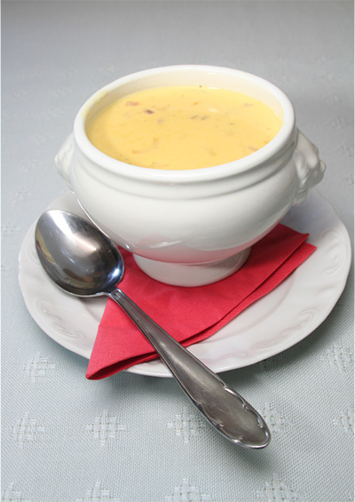 Vichyssoise with Ermite Cheese