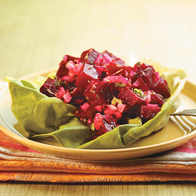 Beet Salad and Cumin Dressing