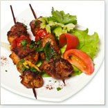 Beef Brochettes with Lemon Grass