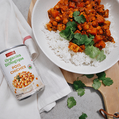 No Butter Chickpea and Tofu Curry (Slow Cooker)