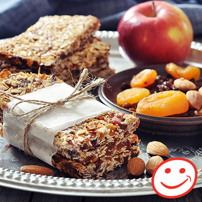 Dried Fruit Health Bars
