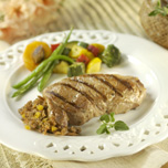 Pork Chops with Apricot Stuffing