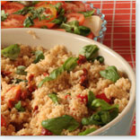 Vegetarian Couscous with Bocconcini