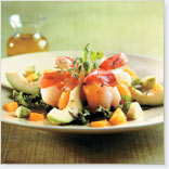 Shrimp, Avocado and Clementine Salad