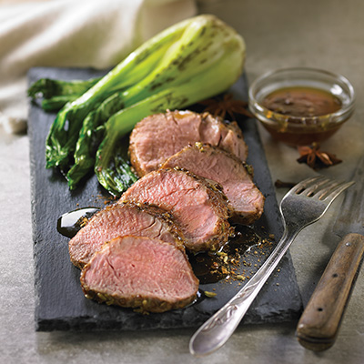Glazed Oriental Pork Tenderloin
