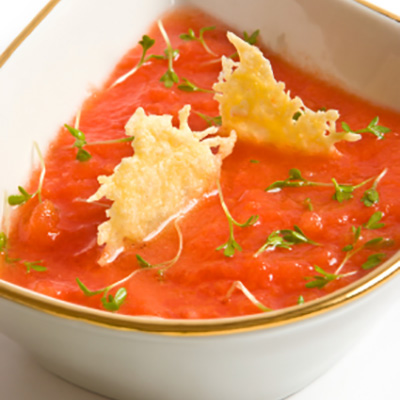 Tomato and Coriander Gaspacho