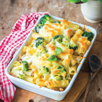 Ricotta Mac'N Cheese with Vegetables