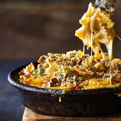 Nutty Home-Style Mac & Cheese