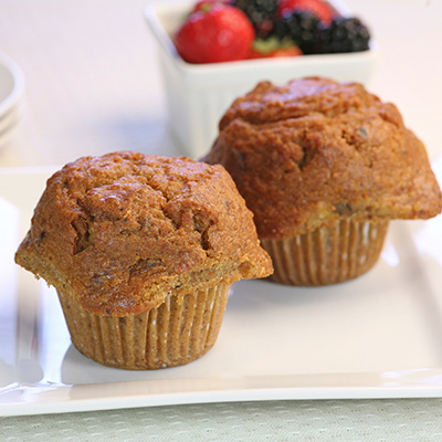 Muffins aux ananas