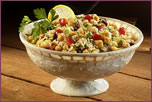 Rice and Chick Pea Salad