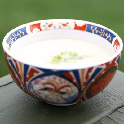 Apple and Celery Root Soup