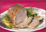 Roast Veal with Thyme and Lemon