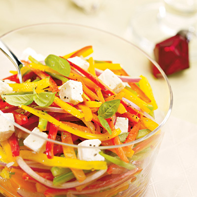 Pepper and Feta Salad