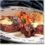 Ground Bison Tournedos with Black Pepper and Coffee