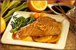Teriyaki Broiled Red Snapper